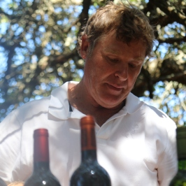 Wayne Gabb of Lomond Wines.