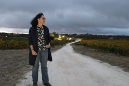 Louisa Rose at Pewsey Vale vineyard in the Eden Valley Australia.