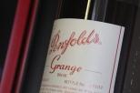 Penfolds Grange wine bottle label.