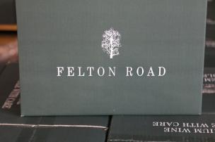 Felton Road wine box in the winery at Bannockburn New Zealand.