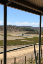 View from Dalwhinnie Wines in Australia.
