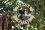 Tahbilk Estate sign in Nagambie Lakes Australia.