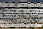 Pepper Tree Wines crate.