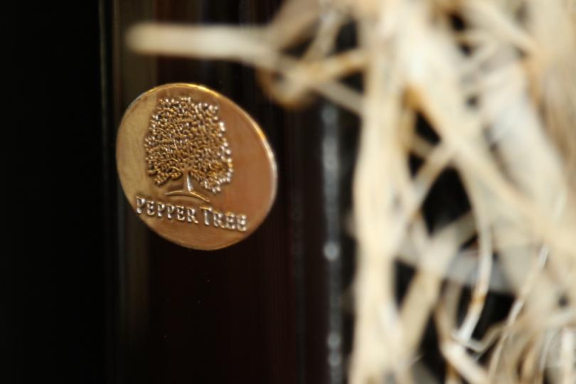 Pepper Tree Wines bottle.