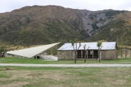 Winery at Peregrine Wines in New Zealand.
