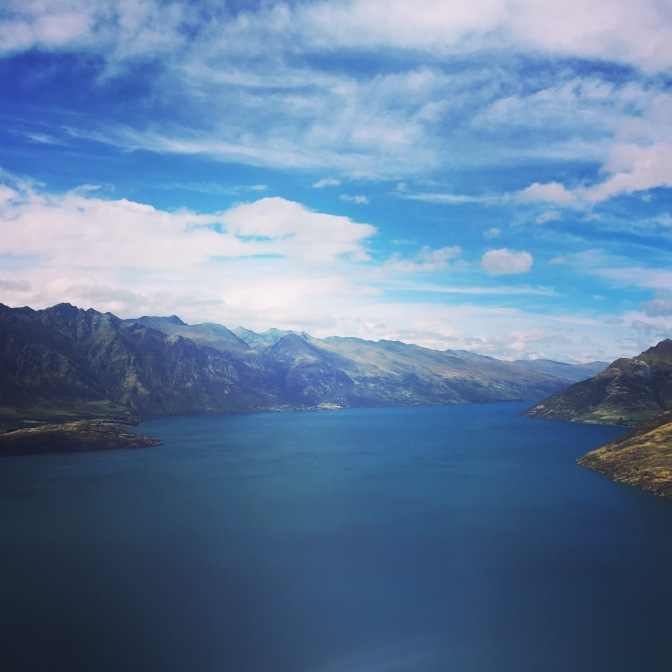Lake Wakatipu.