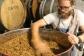 Stirring the ferment at Millton Organic Vineyards in Gisborne New Zealand.