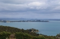View towards Auckland from Waiheke Island.