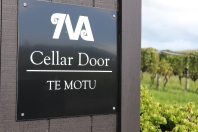 Te Motu Wines Cellar Door on Waiheke Island in New Zealand.