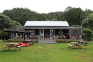 Man O War tasting room on Waiheke Island in New Zealand.