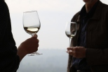 Savouring Sauvignon Blanc at a wine tasting session at the Kingston Family Vineyards in the Casablanca Valley in Chile.
