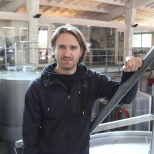 Amael Orrego the winemaker of Kingston Family Vineyards in the winery in the Casablanca Valley in Chile.
