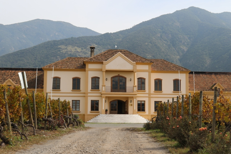 The Vina Koyle winery in Chile.