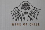 Wines of Chile box at Vina Koyle winery.