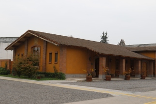 The De Martino tasting room and building in Maipo Valley in Chile.